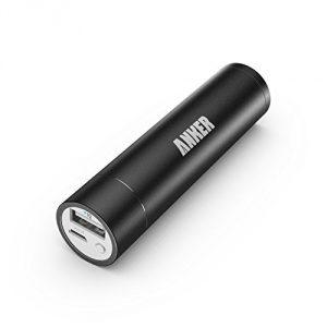 Anker PowerCore+ mini Aluminum Portable Charger (Lipstick-Sized 3350mAh Power Bank) 3rd Generation