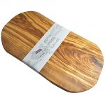 Naturally Med - Olive Wood Cutting Board / Cheese Board - 18 Inch - Large