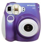 Polaroid PIC-300 Instant Film Camera (Purple)
