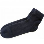 100% Pure Cashmere Bed Socks for Women Black