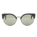 RETROSUPERFUTURE Sunglasses Ilaria AWW Matte Black with Black Zeiss Lenses