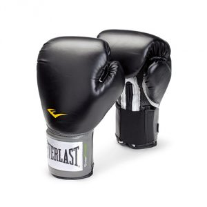 Everlast Pro Style 8-Ounce Training Gloves (Black)
