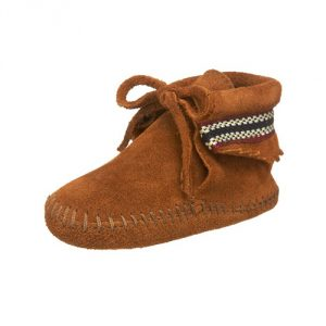 Minnetonka Braid Bootie (Infant/Toddler)