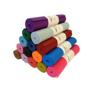 "Yoga Mat 1/4""x72"" Extra Thick 14 Colors Non-Toxic Phthalate Free Clean PVC (TM) by Bean Products - Hot Pink"