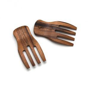 Lipper International 1102 Salad Hands, Acacia