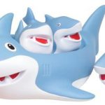 Shark Family Bath Toy - Floating Fun! by D&D Distributing