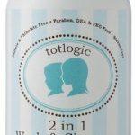 TotLogic Sulfate Free 2 in 1 Body Wash & Shampoo - 8 oz