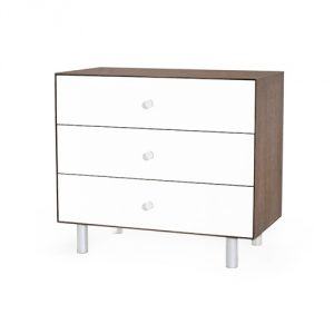 Oeuf Merlin Sparrow Dresser - Walnut/White (1 of 2)