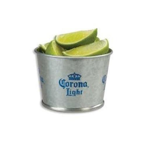 Corona galvanized metal mini lime bucket love the edit for Galvanized metal buckets small