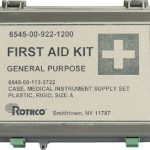 Olive Drab Waterproof General Purpose Military First Aid Kit