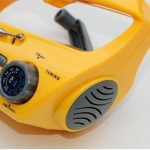 Bear Motion BMXLN-288DS Self-Powered Dynamo AM/FM Radio with Flashlight, Solar Power and Cell Phone Charger - Yellow