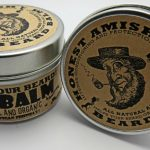 Honest Amish Beard Balm Leave-in Conditioner - All Natural -Vegan Friendly Organic Oils and Butters - 2 ounce tin