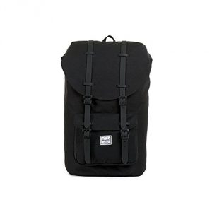 Herschel Supply Co. Little America Rubber, Black, One Size