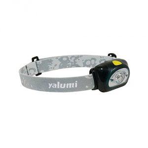 Yalumi Spark Dual 105-Lumen 90-Meter Spotlight White/Red LED Headlamp, Green/Gray