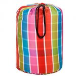 Wildkin Bright Stripes Stay Warm Sleeping Bag