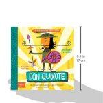 Don Quixote: A BabyLit® Spanish Language Primer (BabyLit Books)