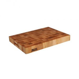 John Boos Reversible End Grain Maple Chopping Block, 20 by 15 by 2.25-Inch