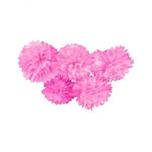 Pink-Pom-Poms