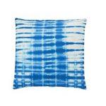 "Shiraleah New York Thai Dye Pillow, 20 by 20"", Indigo"