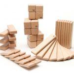 52 Piece Tegu Original Magnetic Wooden Block Set, Natural