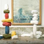Areaware Balancing Blocks, Multi-Color