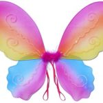Butterfly Wing / Fairy Wing Costume for Girls - Rainbow
