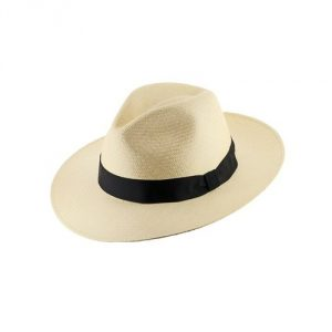 GATSBY FEDORA Panama Hat NATURAL STRAW Stylish SZ
