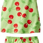 i play. Baby & Toddler Girls' Tankini Set with Built-In Absorbent Swim Diaper