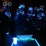 GLOWPONG Glowing Game Balls - 12-pack