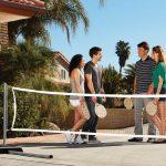 Lifetime 90421 Pickleball, Badminton, & Quickstart Tennis Net Set