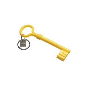 Key-Keychain-Yellow