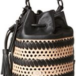 LOEFFLER RANDALL Industry Cross Body Bag, Natural/Black, One Size