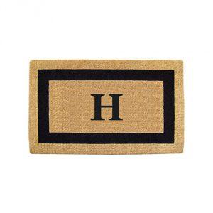 Monogrammed-Doormat