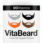 VitaBeard Facial Hair Growth Multivitamin - The Original Beard Growth Supplement for Men, Grow a Thicker Fuller Beard - Vegan, Non-GMO, 3rd Party Tested, 90 Capsules