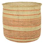 Woven African Iringa Storage Basket - Large