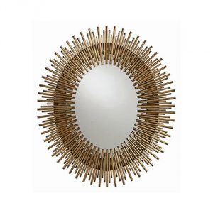 Arteriors-Leaf-Oval-Mirror