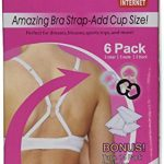 The Ultimate Bra Strap Solution Perfect Concealer Clips - Cleavage Control - 6 Pack Plus Body Tape