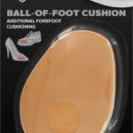 Sof Sole Foam Ball of Foot Cushioned Shoe Insert, 2 Pair