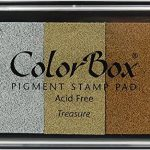 ColorBox Metallic Ink Pad, Full Size,Treasure