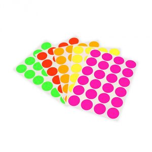 Fluorescent-Adhesive-Dots