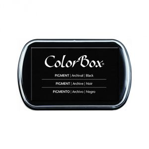 Clearsnap ColorBox Pigment Inkpad, Black