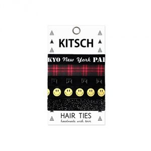 Kitsch-5-Piece-Print-Hair-Ties-Set-Nineties-0