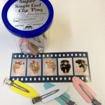 Lady Mate Super Single Curl Clip Pins / 24 Clips Per Jar of No Mark Pin Curl Clips From ProHairTools