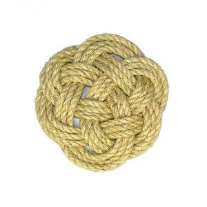 Nautical Jute Rope Knot Trivet by Latitude 38