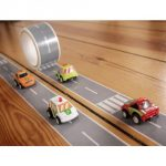 Create a Road Tape with Toy Car Playset, My First Autobahn, 36 Yards X 2 Inch