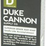 Duke Cannon Men's Soap Brick - 10oz. Big American Brick Of Soap - Smells Like Accomplishment