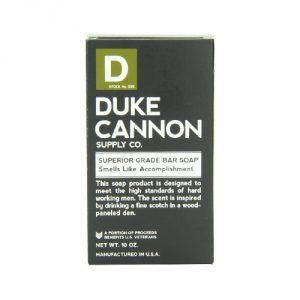 Duke Cannon Men's Soap Brick - 10oz. Big American Brick Of Soap - Smells Like Accomplishment