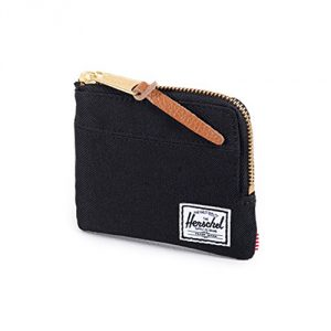 Herschel Supply Co. Johnny Coin or Card Case Black One Size