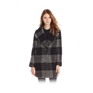 Kensie-Plaid-Cocoon-Wool-Coat
