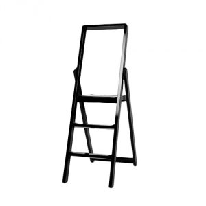 Step Ladder Designed by Karl Malmvall for MoMA in Black